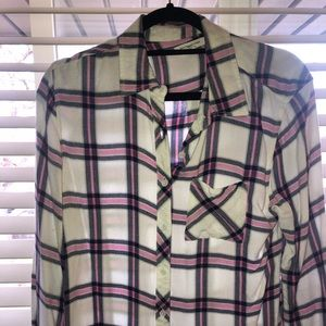 Soft flannel shirt xs cowgirl hiker